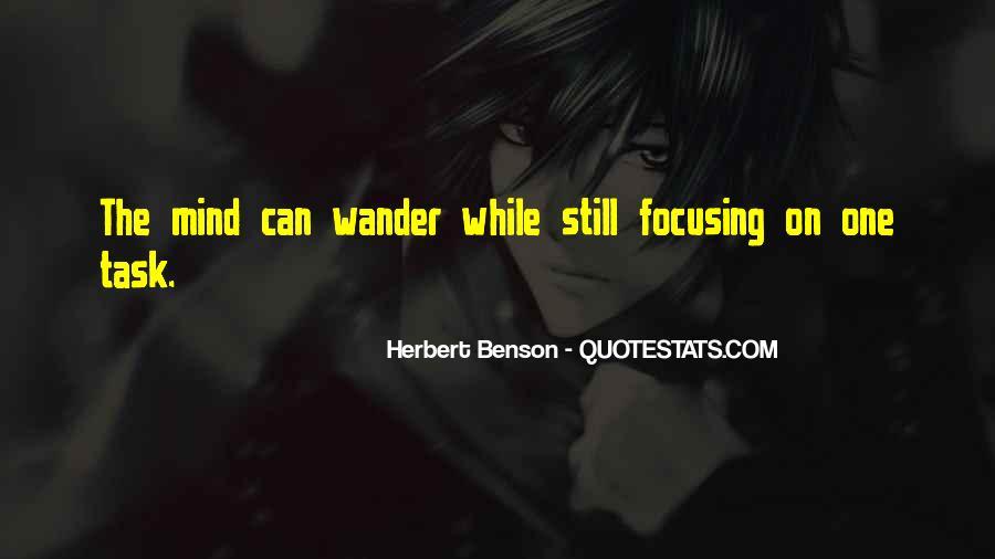 Herbert Benson Quotes #1244840