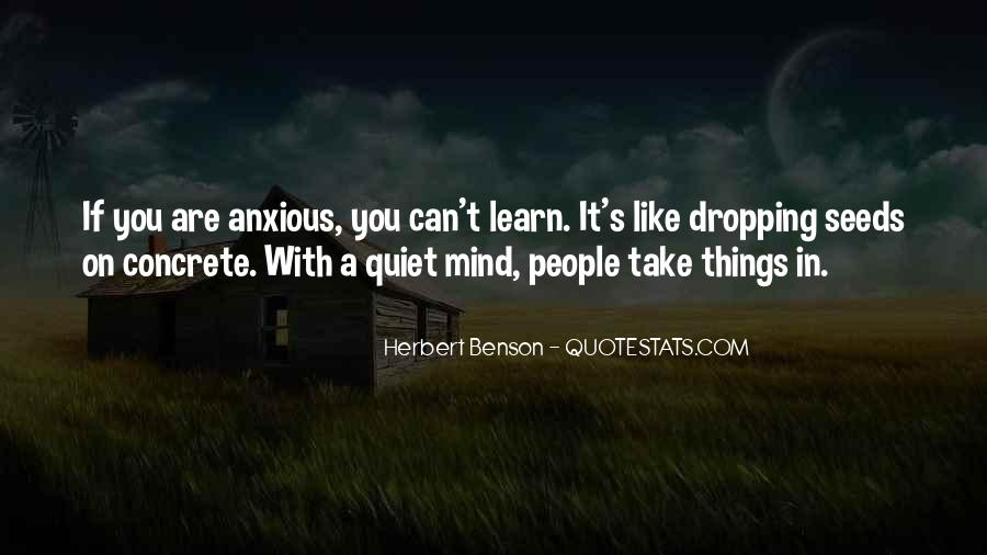 Herbert Benson Quotes #25929