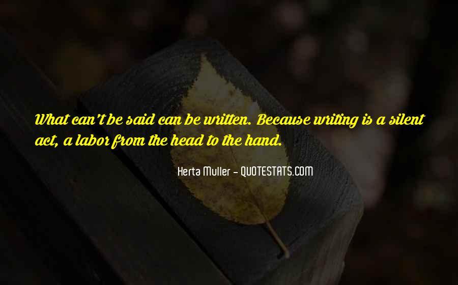 Herta Muller Quotes #215012
