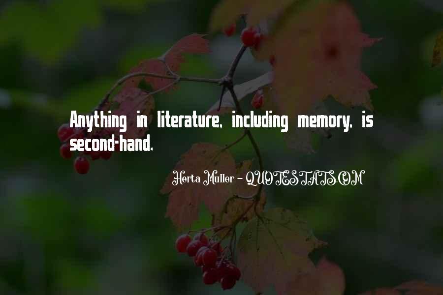 Herta Muller Quotes #477369