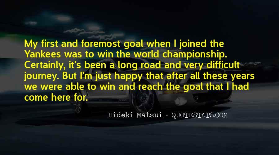 Hideki Matsui Quotes #1200782