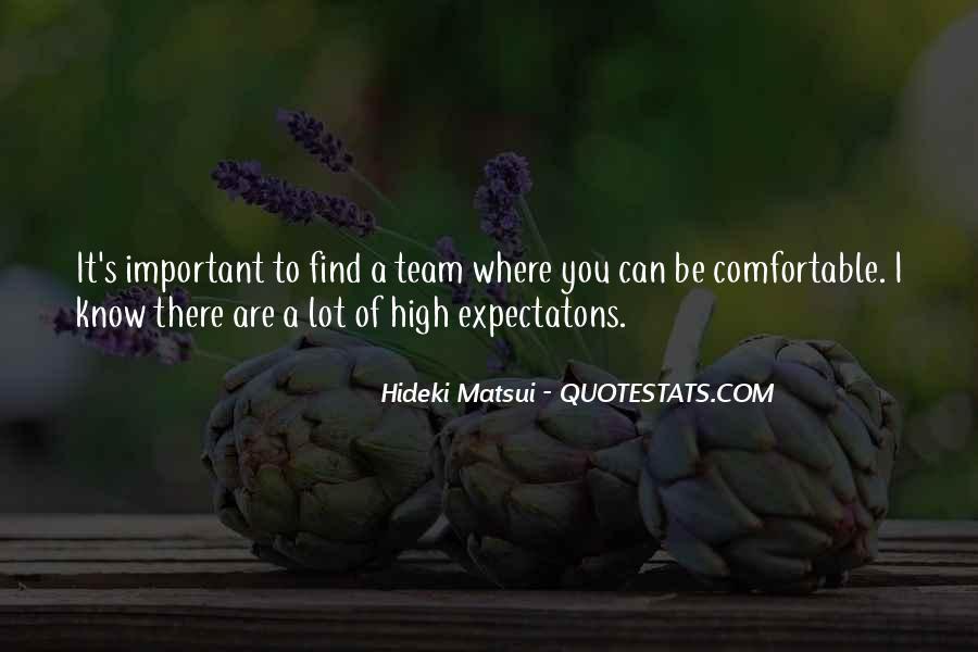 Hideki Matsui Quotes #214923