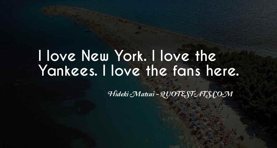 Hideki Matsui Quotes #537437