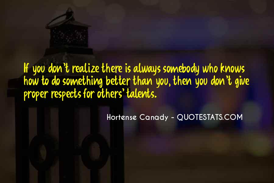Hortense Canady Quotes #64295
