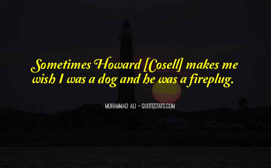Howard Cosell Quotes #1010256