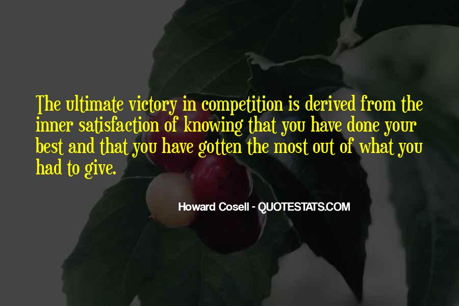 Howard Cosell Quotes #1349186