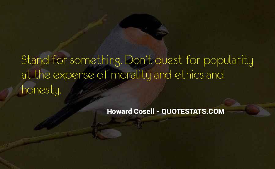 Howard Cosell Quotes #1482792