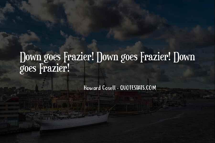 Howard Cosell Quotes #1875061