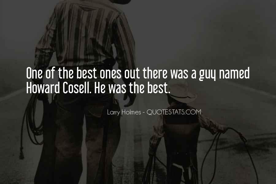 Howard Cosell Quotes #226085