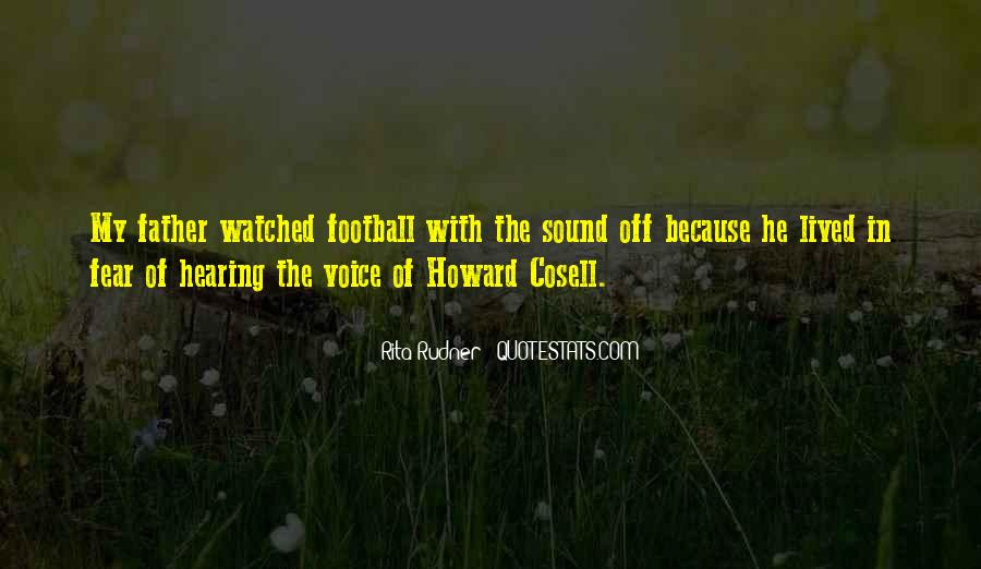 Howard Cosell Quotes #363194