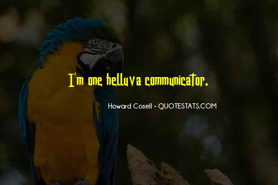 Howard Cosell Quotes #538696