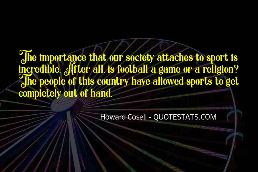 Howard Cosell Quotes #835092