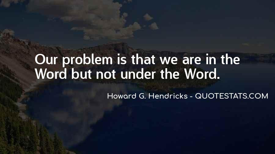 Howard Hendricks Quotes #1074880