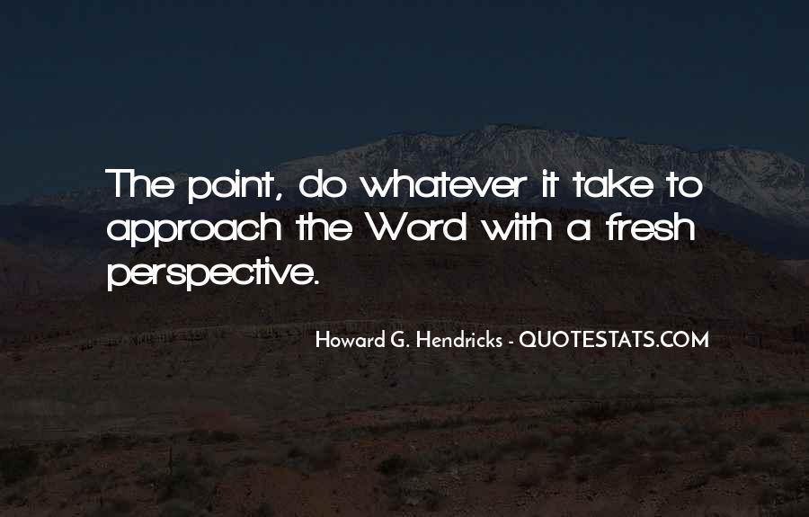 Howard Hendricks Quotes #1168896