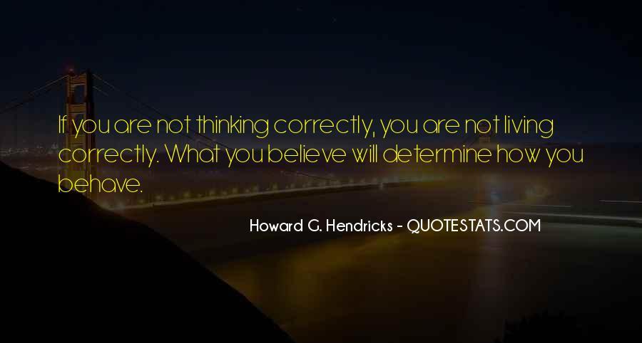 Howard Hendricks Quotes #1318003