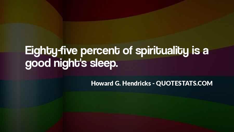 Howard Hendricks Quotes #1344774