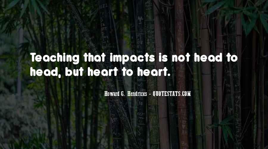 Howard Hendricks Quotes #1362754