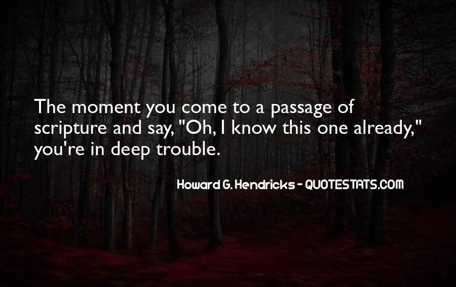 Howard Hendricks Quotes #1496884