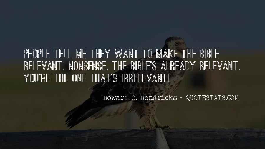 Howard Hendricks Quotes #1613238