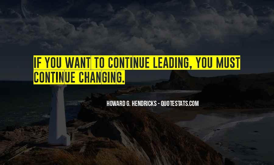 Howard Hendricks Quotes #1626235