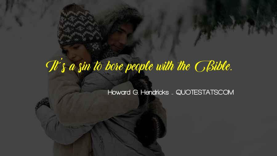 Howard Hendricks Quotes #1631311