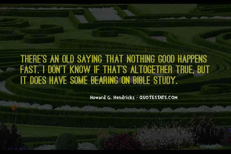 Howard Hendricks Quotes #1638405