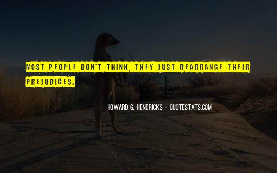 Howard Hendricks Quotes #1676879
