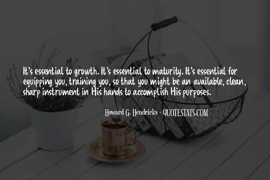 Howard Hendricks Quotes #1680224