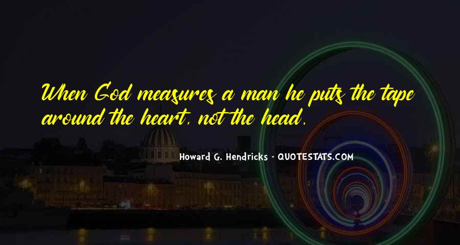 Howard Hendricks Quotes #1741543
