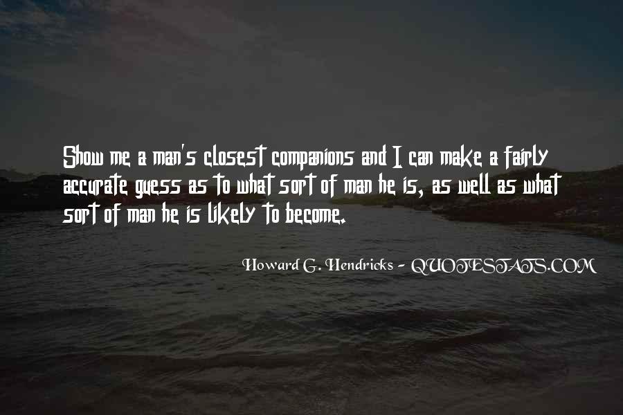 Howard Hendricks Quotes #1835960