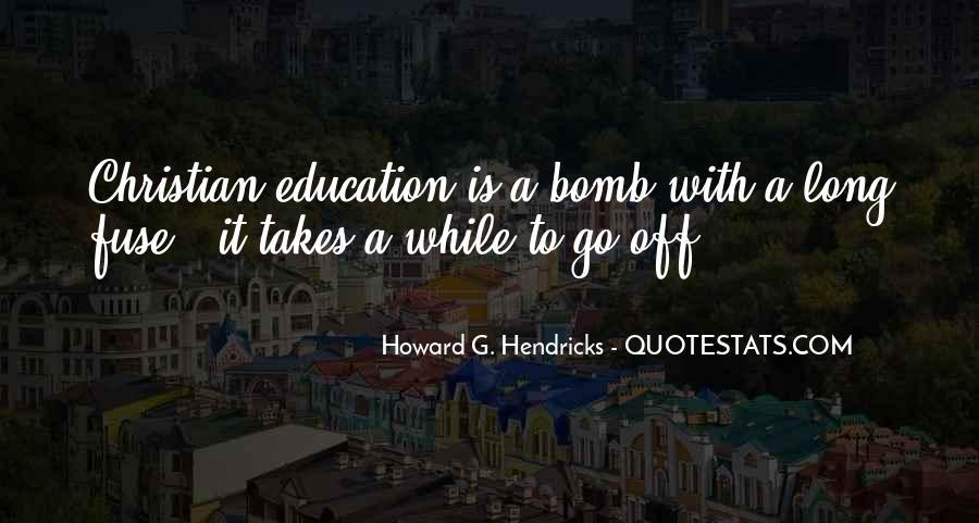 Howard Hendricks Quotes #192538