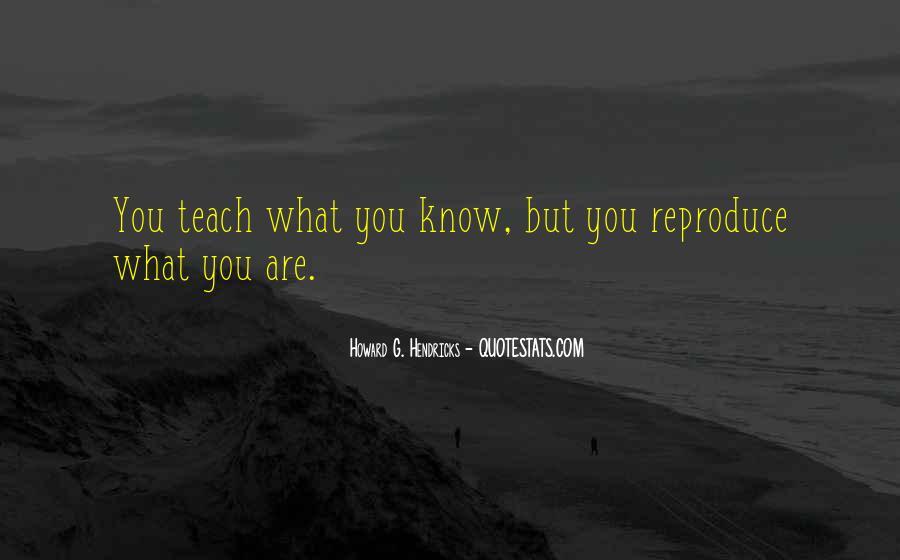 Howard Hendricks Quotes #216757