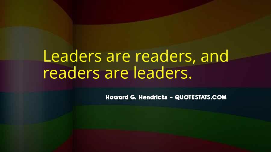 Howard Hendricks Quotes #221759
