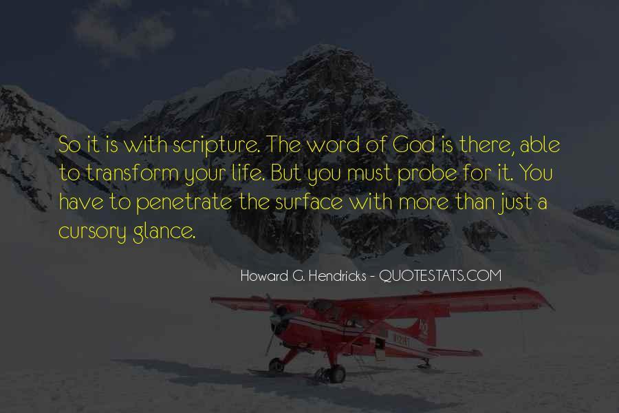 Howard Hendricks Quotes #238407