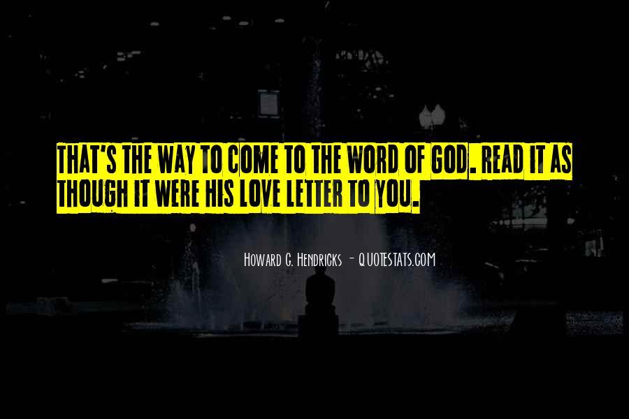 Howard Hendricks Quotes #26791
