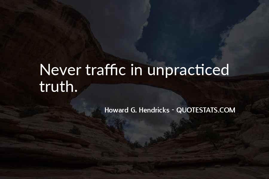 Howard Hendricks Quotes #324922