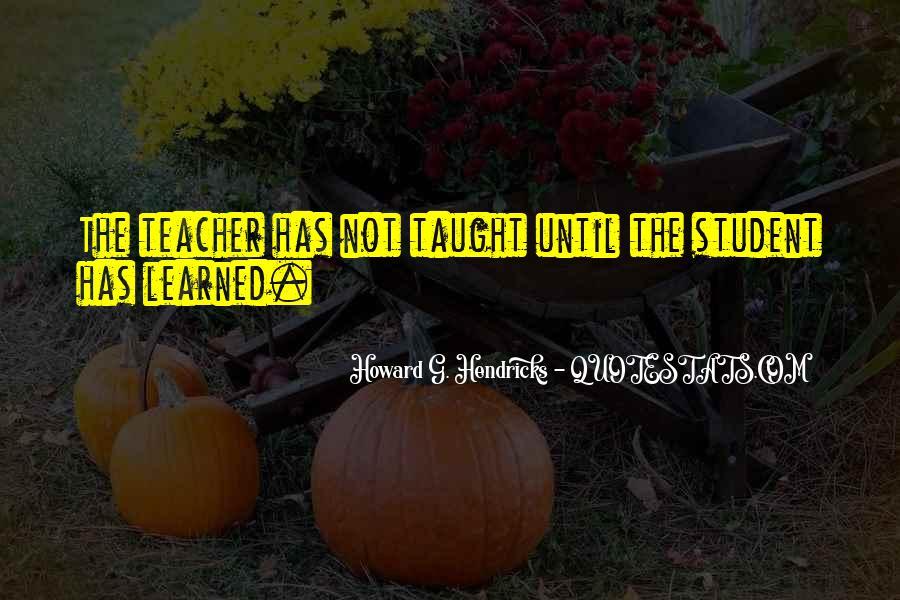 Howard Hendricks Quotes #368129