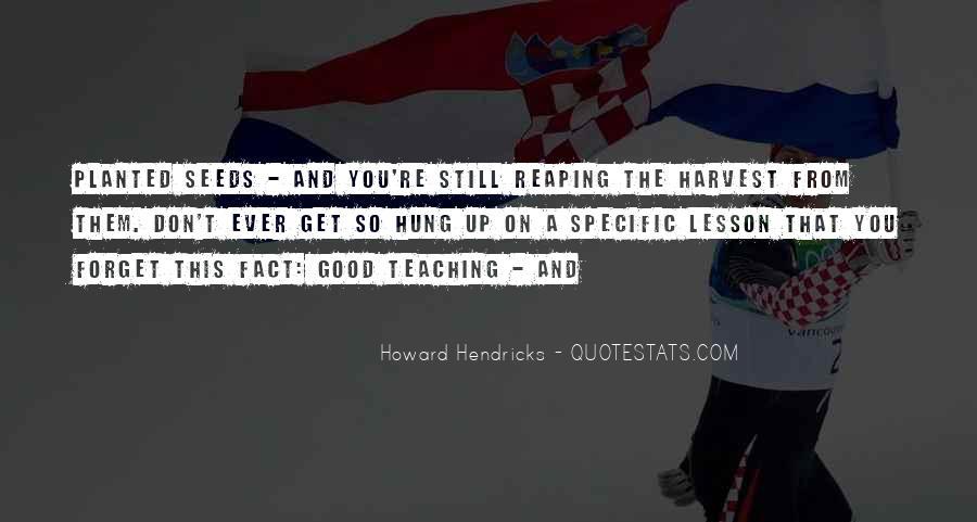 Howard Hendricks Quotes #445072