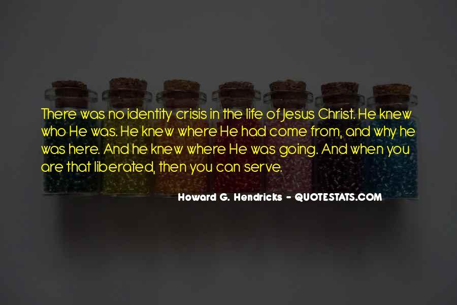 Howard Hendricks Quotes #483589