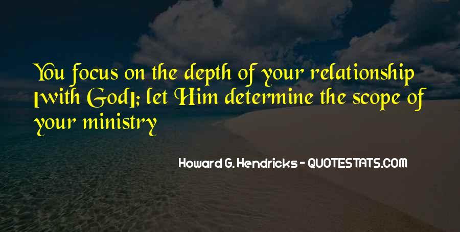 Howard Hendricks Quotes #509597