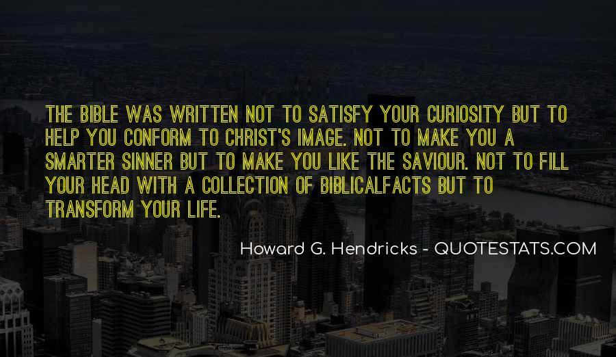 Howard Hendricks Quotes #53743