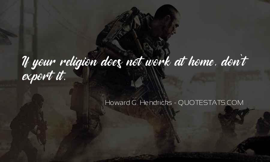 Howard Hendricks Quotes #576198