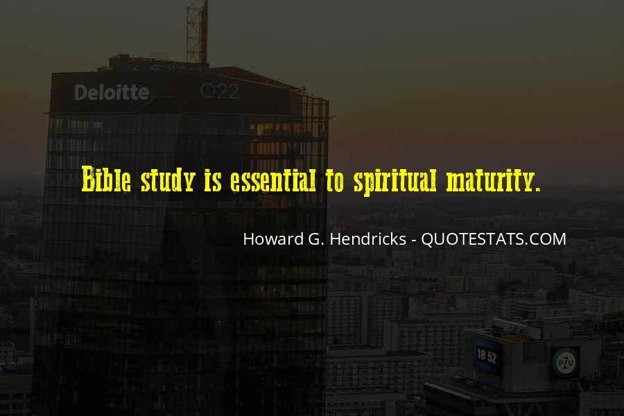 Howard Hendricks Quotes #753901