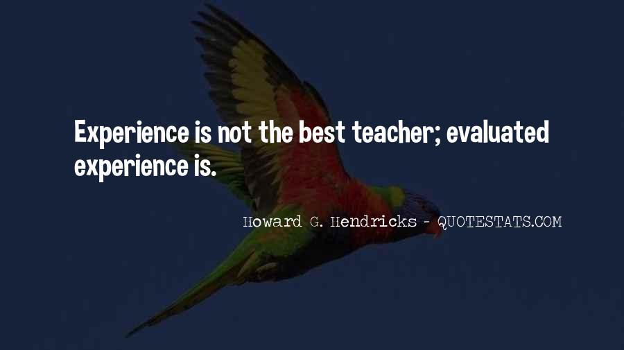 Howard Hendricks Quotes #80650