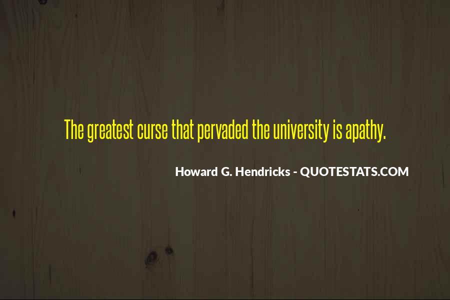 Howard Hendricks Quotes #833605