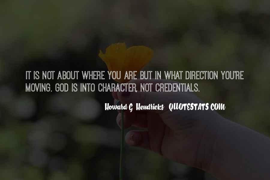 Howard Hendricks Quotes #844004