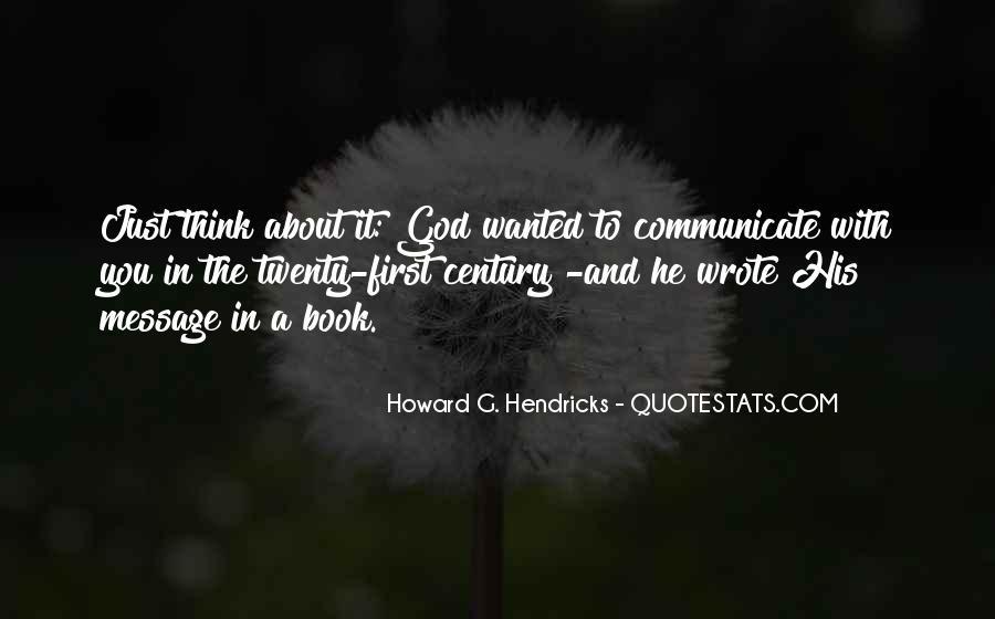 Howard Hendricks Quotes #925124