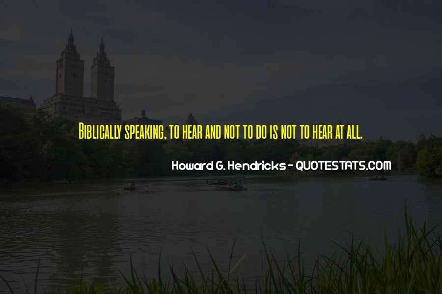 Howard Hendricks Quotes #95303