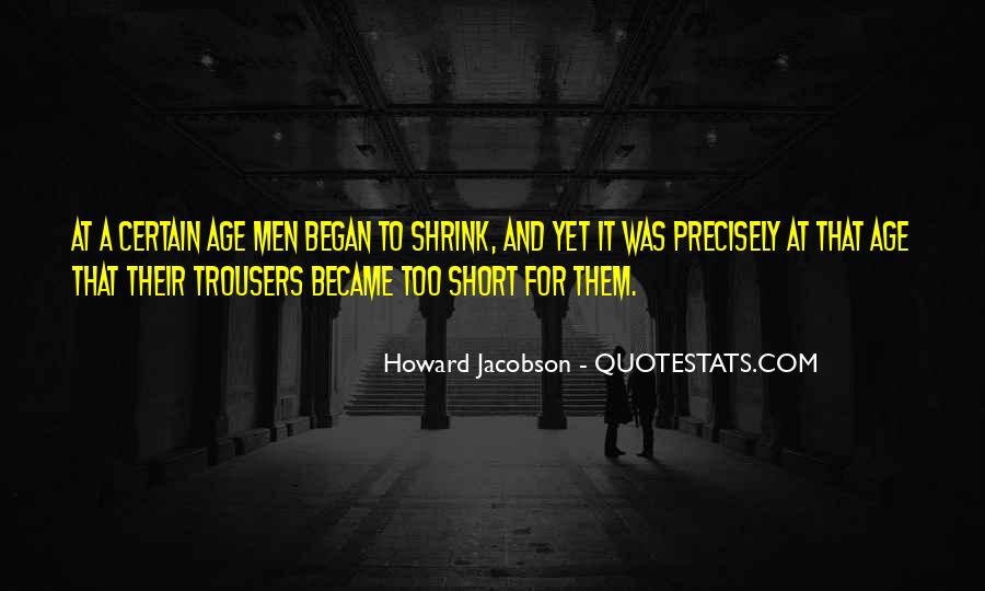 Howard Jacobson Quotes #1353100