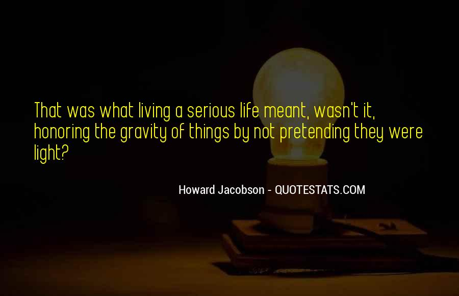 Howard Jacobson Quotes #390742